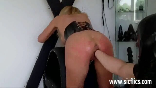 Horny Slave Girl Fist Fucked by her Master