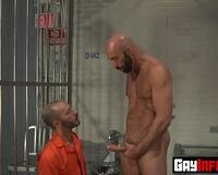 Inmate Fistfucked By Prisoner Hardcore