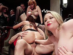 Anal Fisting On Crazy BDSM Party With Hot Bitches