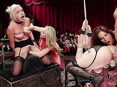 Cruel Fisting On BDSM Party In Front Of Swingers