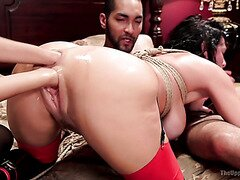 Squirting During Amazing Anal Fisting With Veronica Avluv And Janice Griffith