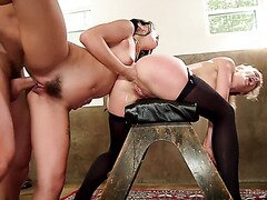 Wicked Anal FIsting BDSM With Gina Valentina And Cherie DeVille
