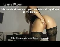 Sensational Pussy Stretching As This Whore Takes Fisting Insertions And More
