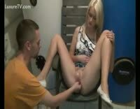 Pierced Amateur Blonde Wants To Be Fisted in a Hurry