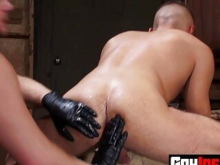 Muscular Stud Fistfucked Hardcore By Hunks Firm Fists