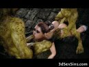 3D Lara Croft Ruined By Goblins