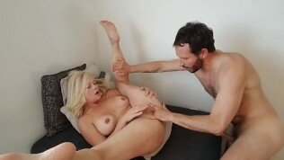 Cute Little Mom Gets Spanked, Fucked, Fisted And Cum On Her Face.